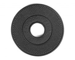 Чугунная подставка под чайник IWACHU 17002, 13,5 см. круг, цвет черный