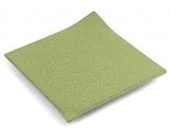 Чугунная подставка под чайник IWACHU 17432, 11х11 см. квадрат, цвет зеленый