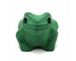Пресс-папье - чугунный прижим для бумаги IWACHU 30033, Жаба зеленая