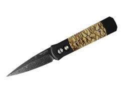 Автоматический складной нож Pro-Tech GODSON 765D Tiger Coral
