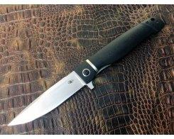 Складной нож Reptilian Карат-03 черный
