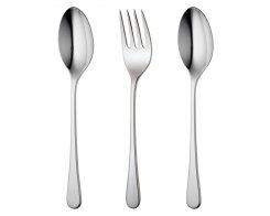 Набор столовых приборов для сервировки, 3 предмета, Robert Welch IONBR1088V/3, сталь 18/10.