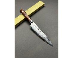 Нож для овощей и фруктов Sakai Takayuki Damascus Hammered 07221 Petty, 13.5 см.