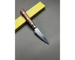 Нож для овощей и фруктов Sakai Takayuki Damascus Hammered 07229 Petty 80 мм.