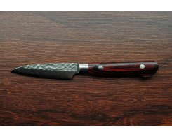 Нож для овощей и фруктов Sakai Takayuki Damascus Hammered 07390 Petty 80 мм.