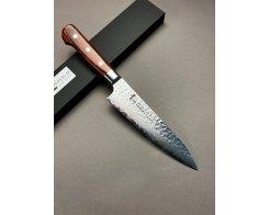 Нож поварской универсальный Sakai Takayuki Damascus Hammered 07394, Gyuto 180 мм.