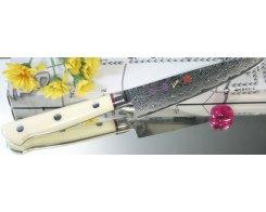 Универсальный нож Hiro-Shiki SKC-2 Petty Damascus Premium, 15 см.