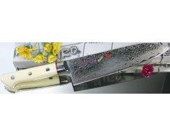 Поварской нож Сантоку Hiro-Shiki SKC-3 Santoku Damascus Premium