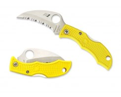 Складной нож Spyderco Ladybug 3 LYLS3HB Yellow FRN handle