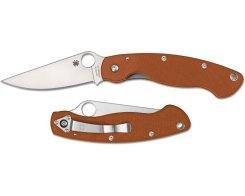 Складной нож Spyderco Military C36GPBORE,  CPM-Rex 45
