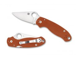 Складной нож Spyderco Para 3 C223GPBORE,  CPM-Rex 45
