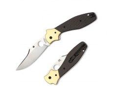 Складной нож Spyderco Schempp Bowie SC190CFP
