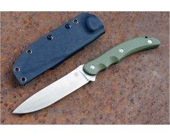 Туристический нож Steelclaw Бастион bastion green