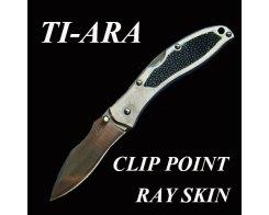 Складной нож G.Sakai 11429 Ti-ara Clip point