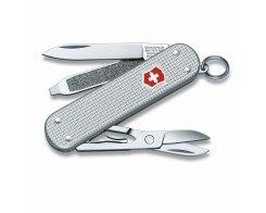 Швейцарский складной нож-брелок Victorinox 0.6221.26 SILVER 5 функций