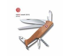 Складной нож Victorinox 0.9561.63 RangerWood 55, 10 функций