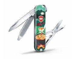 "Швейцарский нож Victorinox Classic SD ""Burger Bar"" 0.6223.L1906, 7 функций"