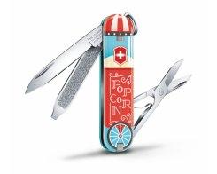 "Швейцарский нож Victorinox Classic SD ""Let It Pop!"" 0.6223.L1910, 7 функций"