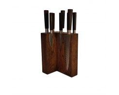 Магнитная подставка для ножей Woodinhome KS009SOB 17,5х24х12,5 см.