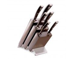 Набор ножей 6 предметов в подставке Wuesthof Ikon 9866 WUS