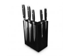 Набор из 8-ми кухонных ножей на подставке из дуба Yaxell RAN YA/RAN-KS009SOBL